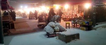 Fischmarkt Yakutsk kalt