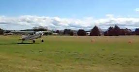 Flugzeug, Landung, Überschlag