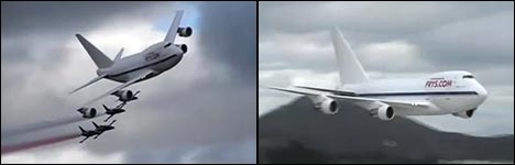 flugzeuge im tiefflug