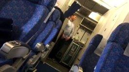 Flugzeugentführung Selfie mit Entführer