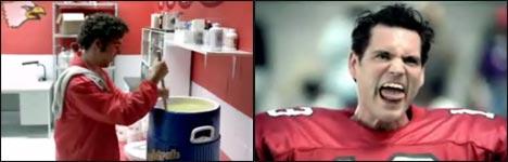 Football, weiche Muskeln, Werbung, Wetten, Video
