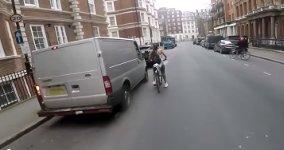 Frau Fahrrad Rache Außenspiegel