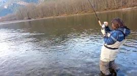Frauen, Angeln, Fischen