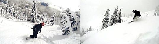 Ski, Pulverschnee, Snowboard