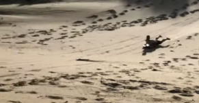 Surfboard Sand Wasser