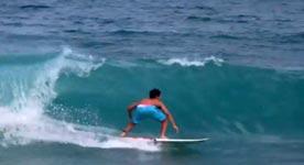 Gabriel Medina Backflip, Surfbrett