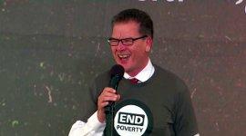 Gerd Müller Bundes-Entwicklungsminister CSU Global Citizen Day