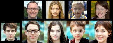KI Gesichter