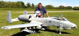 A-10 Thunderbolt II Modelflugzeug Warthog