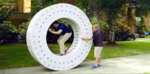 Giant iMac Wheel