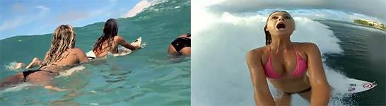 girls, dubstep, surfing, Alexey Shcheglov - Rush