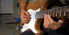 Gitarre Buntstifte