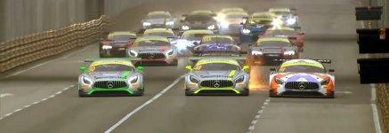 Massencrash beim GT-Weltcup Macao