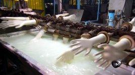 Gummihandschuhe Herstellung