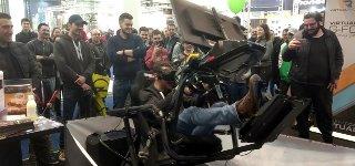 Virtuelle Realität Autorennen VR