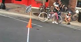 Did I win, fahrrad zieleinlauf
