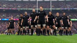 Rugby World Cup Finale Haka