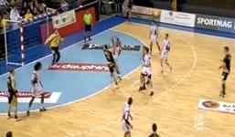Handball-Tor der seltenen Art