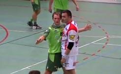 kuss, handball