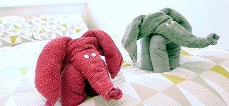 Handtuch Elefant