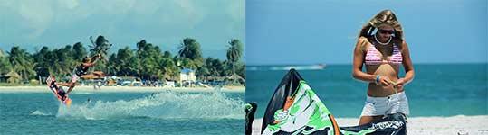Kitesurfing, kitesurfen