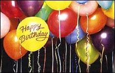 card happy birthday, happy birthday greeting, geburtstagszeitung