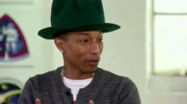 Pharrell Williams, Tränen