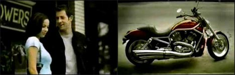 Harley Davidson, Motorrad, flirten