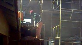 Putzarbeiten in Südafrika