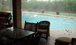 Hagelsturm, Hail storm, Hagel, Schnee, Phoenix Arizona