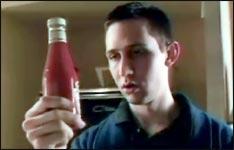 Bier oder Heinz Ketchup, Werbung