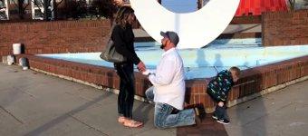 Heiratsantrag pinkeln