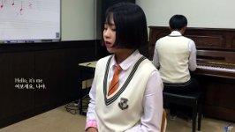 Cover Studentin Seoul Adele Hello