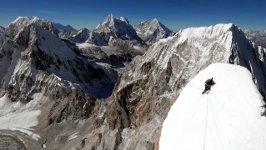 Bergsteigen Lunag Ri