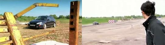 Highspeed Crash Test, Ford Focus