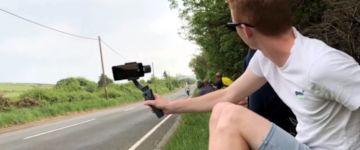 Highspeed Motorradrennstrecke