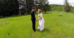 Drohne Hochzeit Fail Video Absturz