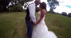 Hochzeitsfoto, Quadcopter