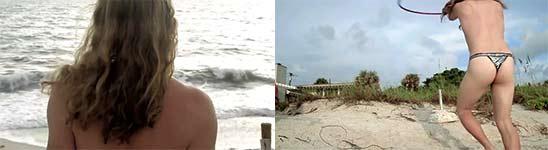 Hula Hoop am Strand