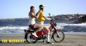 Männer Motorrad