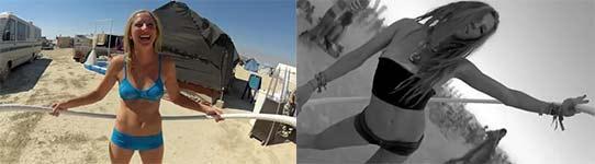 Hula Cam at Burning Man 2012