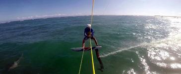 Hydrofoil Crash