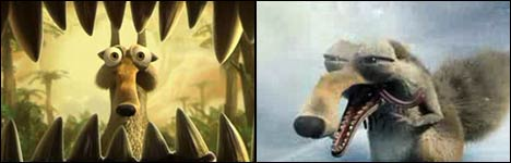 ice age 3 trailer, scrat, Dawn of the Dinosaurs, teaser