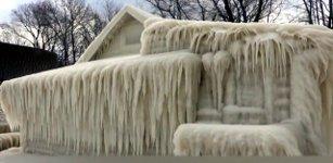 Eishaus am Ontariosee