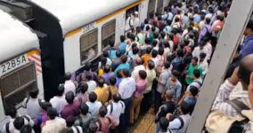 Zug Bahn Indien
