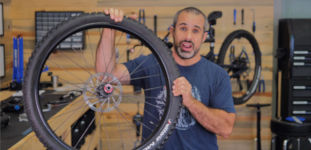 Fahrrad Reifen Explosion