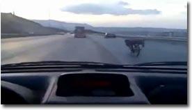 insane moped stunt