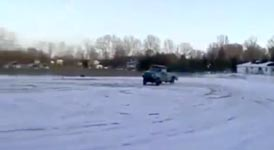 Insane Redneck Truck Jump