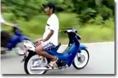Insane Scooter Tricks, Roller, Moped