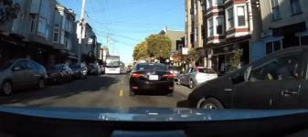 Instant Karma beim Prius Fahrer